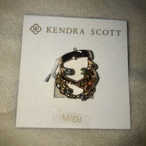 Kendra Scott NWT Gold Midi Rings